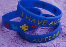 I Have Autism Bracelet for Kids (Blue) - Medical Alert, Autism Awareness Jewelry