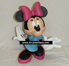 Extremely Rare! Walt Disney Minnie Mouse Big Polyresin Figurine Statue