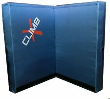 Climb X Double X Crash Pad - Blue - Rock Climbing / Bouldering Crash Pad
