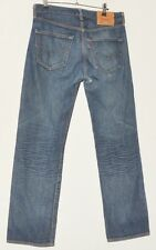 "SUPERB MEN'S JEANS DARK BLUE LEVI STRAUSS & CO 501 XX STRAIGHT W 32"" L30"""