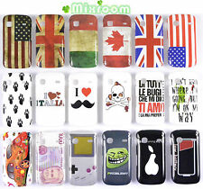 COVER CUSTODIA BACK CASE RIGIDA PER SAMSUNG S5660 GALAXY GIO' GIO