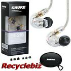 Shure SE215-CL Clear Ear Buds / Earphones Headphones Earbuds Free US 48 Ship