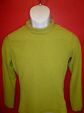 HIGHNECK SWEATER by COLUMBIA SPORTSWEAR SMALL, SOFT GREEN EXCELLENT CONDITION