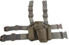 FONDINA SOFTAIR SERPA SUPER COSCIALE RIGIDA M92 TAN CQC AIRSOFT HOLSTER BD6094