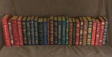Easton Press MASTERPIECES OF SCIENCE FICTION Leather Bound 26 vols. (3 Signed)