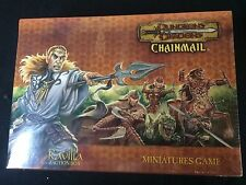 dungeons and dragons chainmail miniatures game sealed box
