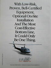 3/1993 PUB BELL HELICOPTER TEXTRON HELICOPTERE HUEY HUBSCHRAUBER ORIGINAL AD
