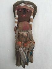 Rare Old ANTIQUE Vintage HAND MADE NATIVE AMERICAN INDIAN RAG DOLL 11 inches