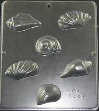 Sea Shells Seashells  Chocolate Candy Mold 1333 NEW