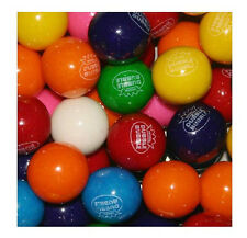 "Dubble Bubble ASSORTED 1"" 24mm Gum balls Bulk Vending 3 lbs Approx 170 Gumballs"