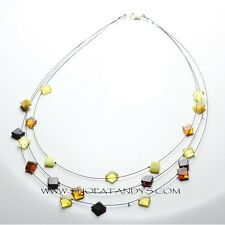 ADULT GENUINE NATURAL BALTIC AMBER NECKLACE
