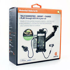 Griffin WindowSeat Kit Talk Hands Free Play Through Aux for iPhone/iPod Car Kit