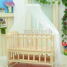 Round Dome Baby Bed Mosquito Mesh Curtain Net for Toddler Crib Cot Canopy