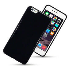 Case for Apple iPhone 6 Plus / 6S Plus TPU Gel Skin Case / Cover - Solid Black