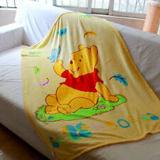 disney pooh the bear coral fleece SMALL blanket rug blankets U155 little quilt n