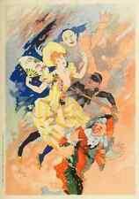 A4 photo CHERET Jules les affiches illustrees 1896 Opera 2 imprimé Poster