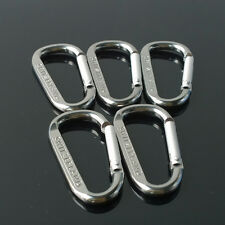 1Pc Carabiner D-Ring Camp Snap Clip Hook Buckle Keychain Keyring Hiking Climbing