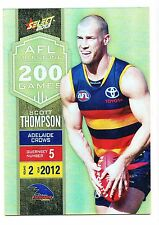 2013 Select Champions Scott Thompson Adelaide Milestone MG3