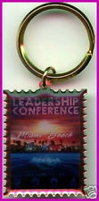 Hard Rock Cafe MIAMI 2004 Leadership Conference STAFF KEYCHAIN Manager Exclusive