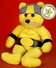 CELEBRITY BEAR Star #07 HULK HOGAN Hollywood Wrestler BEAN BAG PLUSH Toy MWMT