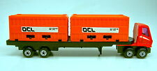 "MATCHBOX SUPERFAST ps-1 trailer Orange Container ""OCL"" di container PLAYSET"