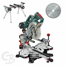 METABO Mitre saw KGSV 72 Xact with Frame stand and Saw blade