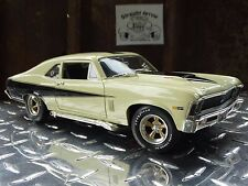 Ertl American Muscle 1969 Chevy Nova SS Baldwin Motion 1:18 Scale Diecast 70 Car
