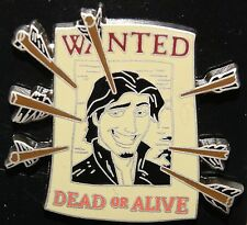 Disney 2014 Tangled Rapunzel Flynn Rider Wanted Dead or Alive Poster Arrows Pin