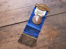 Antique Religious Pre Prohibition Temperance Delegate Ribbon CTAU of A