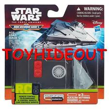 HASBRO STAR WARS THE FORCE AWAKENS MICRO MACHINES FIRST ORDER STAR DESTROYER RC