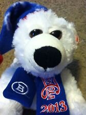 Adorable Pepsi-Cola 2013 Plush Stuffed Polar Bear NWT Boyd Gaming Christmas