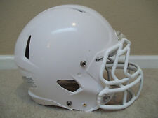 Lightly Used LARGE Riddell White Speed White Game Football Helmet & Facemask