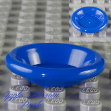 NEW Lego Friends/Belville BLUE DISH 3x3 Utensil Minifig Kitchen Food Bowl Plate