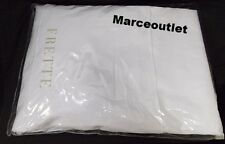 Frette Bedding Single Ajour QUEEN Fitted & Flat Sheets White
