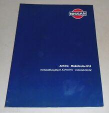 Werkstatthandbuch Reparaturanleitung Karosserieinstandsetzung Nissan Almera N15