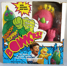 VERY RARE VINTAGE 1987 BOINK'RS BOINKERS BOXING PUPPET R ROWDY RED NEW MIB !