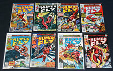 The Human Fly Comic Lot  #1-3, 7-9, 15, 17  Mid/Low Grade 1977 Marvel Comics