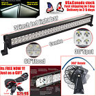 34 inch 180W Led Work Light Bar Spot Flood Combo Work Driving SUV Offroad 30/32