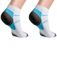 Foot Compression Sock Useful For Plantar Fasciitis Heel Spurs Pain Sport 1 Pair