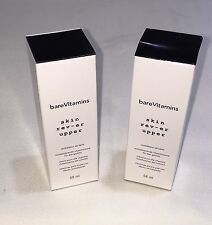 2 X Bare Escentuals bareVitamins Skin Rev-Er Upper Full Size 2.3 oz  68 ml REVER