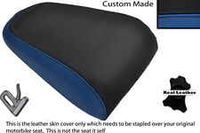 ROYAL BLUE & BLACK CUSTOM FITS YAMAHA MT 03 06-13 REAR LEATHER SEAT COVER