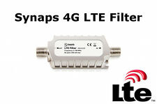 Synaps Indoor 4G LTE Signal Filter / Blocker 5-790MHz F Type Saorview / Freeview