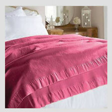 Merino Wool Blanket King Size from Early's of Witney Winter Berry Great  Value