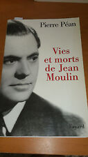 Vies et morts de Jean Moulin. Elements d'une biographie - Pierre Péan