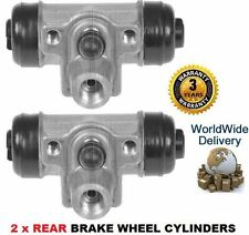 FOR HONDA INSIGHT 1.0i HYBRID 2000-12/2004 2x REAR BRAKE WHEEL CYLINDER