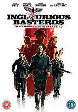 Inglorious Basterds  - Quentin Taraninos Superb  War Epic - Brad Pitt - Region 2
