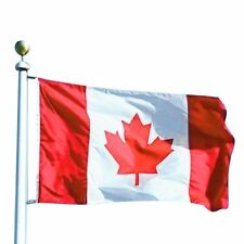 3x5 FT 90*150cm Canadian Flag Canada Maple Leaf Banner Polyester Outdoor