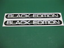 2 BLACK EDITION DOMED STICKERS