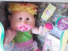 Cabbage Patch Kids BABIES Pacifier Treat Washcloth Name MADELEINE JESSICA Oct 19