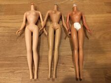 Barbie Nude Vintage Bodies Lot Different Skin Tone And Bendable Legs #2